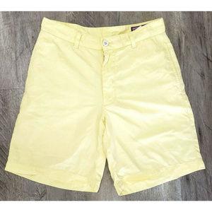 Vineyard Vines Mens Yellow Club Shorts Size 28